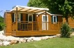 Mobil home 3 chambres Dordogne camping les etangs du bos